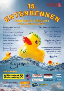 Entenrennen 2014 Poster